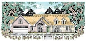Country House Plan 79013 Elevation