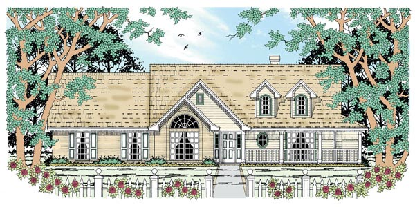 Country House Plan 79014 Elevation