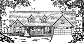 Plan Number 79029 - 1612 Square Feet