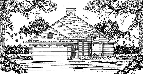Traditional House Plan 79032 Elevation