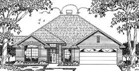 European House Plan 79034 Elevation