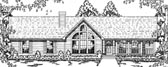 Plan Number 79039 - 1911 Square Feet