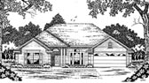Plan Number 79040 - 1932 Square Feet
