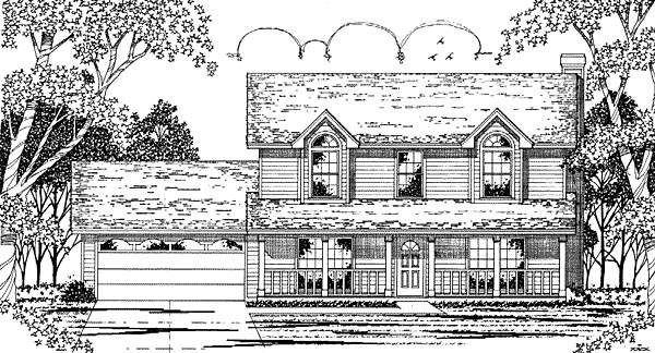 Country House Plan 79041 Elevation