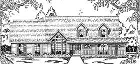 Country House Plan 79044 Elevation