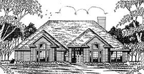 European House Plan 79049 Elevation