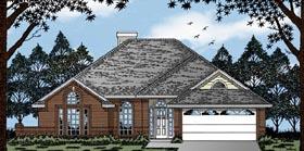 European House Plan 79054 Elevation