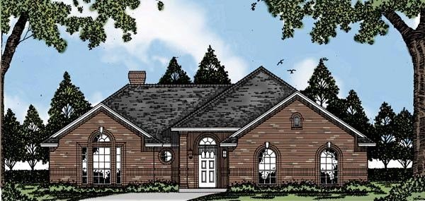 Traditional House Plan 79055 Elevation
