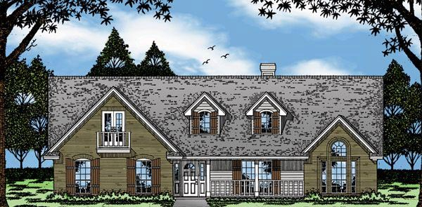 Country House Plan 79062 Elevation