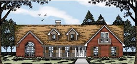 Country House Plan 79068 Elevation