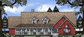 Country House Plan 79073 Elevation