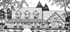 Cape Cod Country House Plan 79074 Elevation