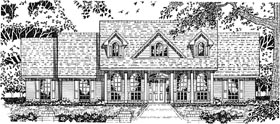 Cape Cod Country House Plan 79080 Elevation