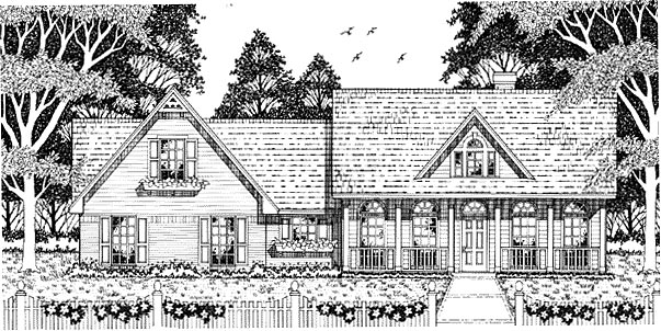 Country House Plan 79082 Elevation