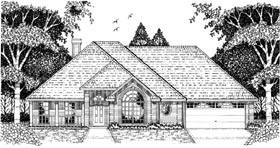 European House Plan 79085 Elevation