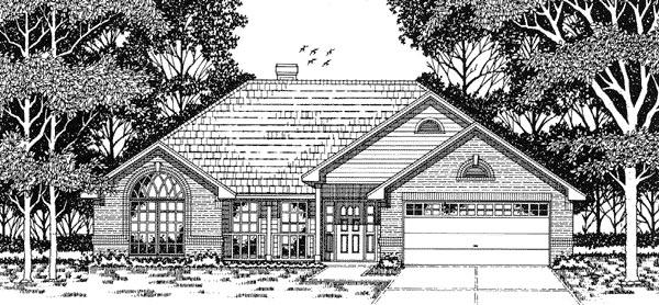 House Plan 79093