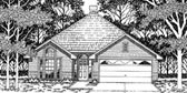 Plan Number 79101 - 1465 Square Feet