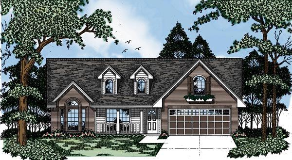 Country House Plan 79102 Elevation