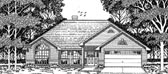 Plan Number 79103 - 1489 Square Feet