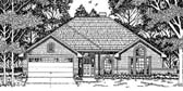 Plan Number 79107 - 1601 Square Feet