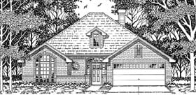 Plan Number 79109 - 1631 Square Feet