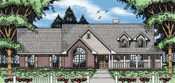 Country House Plan 79114 Elevation