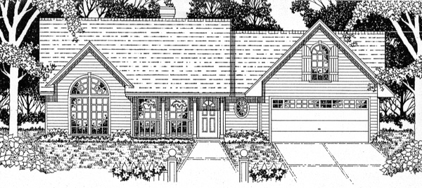 Traditional House Plan 79132 Elevation