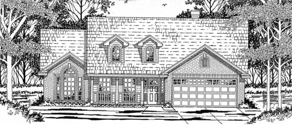 Country House Plan 79135 Elevation