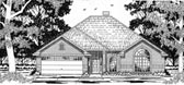 Plan Number 79138 - 1671 Square Feet