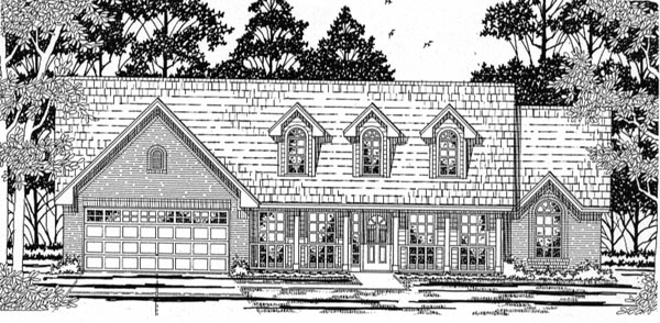 Cape Cod Country House Plan 79153 Elevation