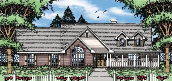 Country House Plan 79154 Elevation