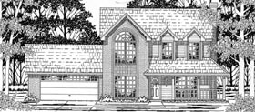 Country House Plan 79158 Elevation