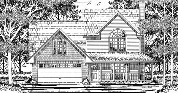 Country House Plan 79159 Elevation