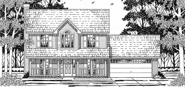 Country House Plan 79161 Elevation