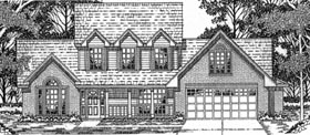 Country House Plan 79165 Elevation