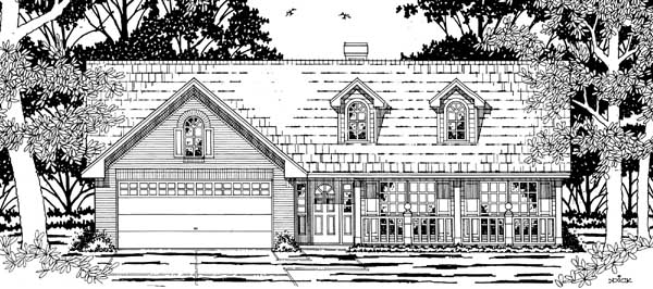 Country House Plan 79178 Elevation