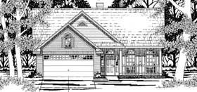 Country European Florida House Plan 79182 Elevation