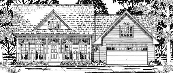Country House Plan 79192 Elevation