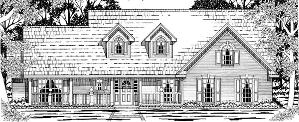 Country House Plan 79206 Elevation