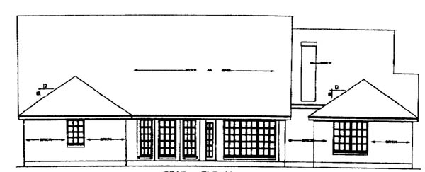 Country House Plan 79206 Rear Elevation
