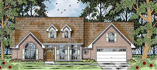 Country House Plan 79207 Elevation