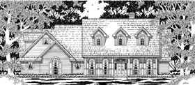 Cape Cod Country House Plan 79216 Elevation