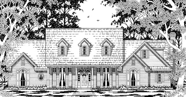 Cape Cod Country House Plan 79221 Elevation