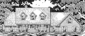 Cape Cod Country House Plan 79224 Elevation