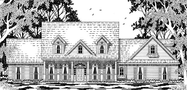 Cape Cod Country House Plan 79225 Elevation