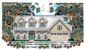 Cape Cod Country House Plan 79235 Elevation