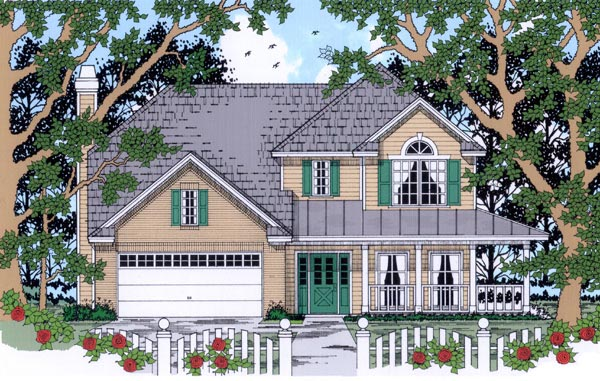 Country House Plan 79242 Elevation