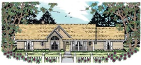 Traditional House Plan 79247 Elevation