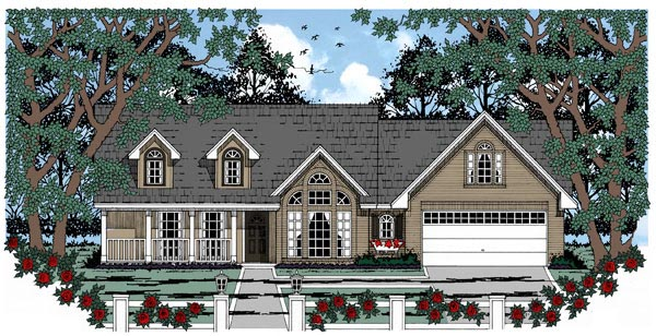 Country House Plan 79250 Elevation
