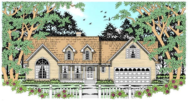 Country House Plan 79251 Elevation